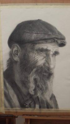 portrait zeichenkurs, may fine art studio wien