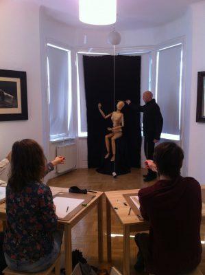 zeichenworkshop, may fine art studio wien