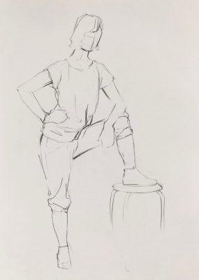 Figuren Zeichenkurs, may fine art studio Wien