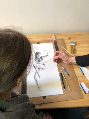 zeichenkurs, may fine art studio wien