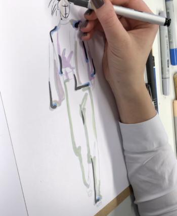modezeichnen Kurs may fine art studio wien